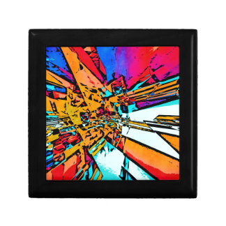 Pop Art Abstract Gift Box