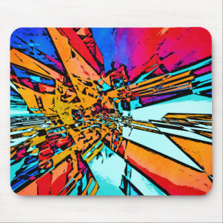 Pop Art Abstract Mouse Pad