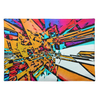 Pop Art Abstract Placemat