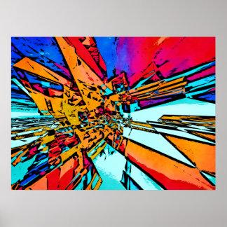 Pop Art Abstract Poster