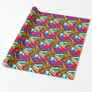Pop Art Abstract Wrapping Paper