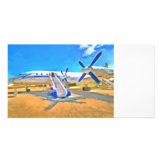 Pop Art Airliner Card