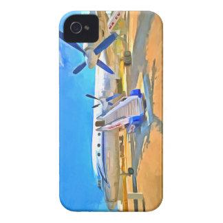 Pop Art Airliner Case-Mate iPhone 4 Cases