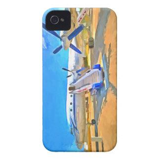 Pop Art Airliner iPhone 4 Case