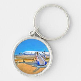 Pop Art Airliner Key Ring