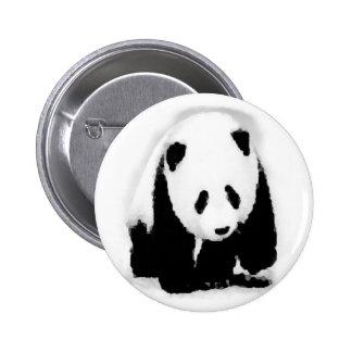 Pop Art Baby Panda 6 Cm Round Badge