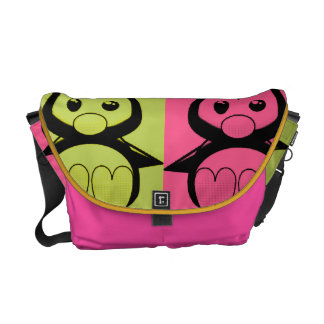 Pop Art Baby Tux Rickshaw Messenger Bag