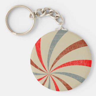 Pop Art Backdrop Basic Round Button Key Ring
