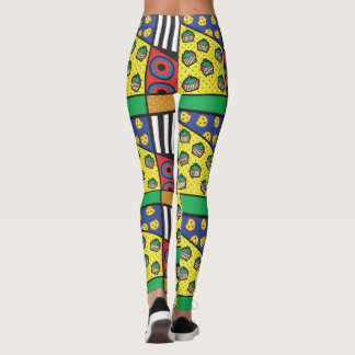 Pop Art Bakery Leggings