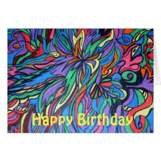 Pop Art Birthday Card