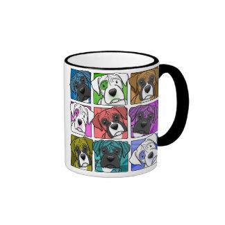 Pop Art Boxer Mugs