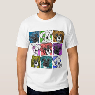 Pop Art Boxer T Shirts