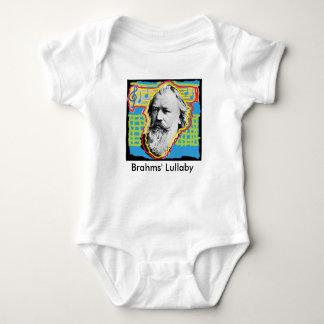 Pop Art Brahms Lullaby baby romper Baby Bodysuit