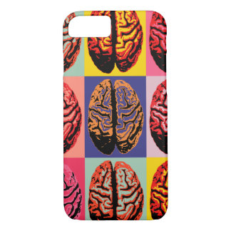 Pop Art Brain iPhone 8/7 Case