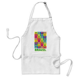 Pop Art Brazil Adult Apron