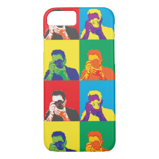 Pop Art Bright Colours Photographer Camera iPhone 7 Case