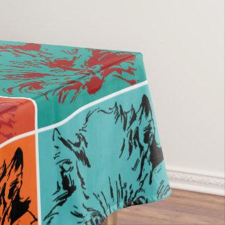 Pop Art Cat Tablecloth