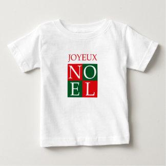 Pop Art Christmas NOEL Baby T-Shirt