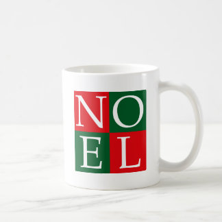 Pop Art Christmas NOEL Coffee Mug