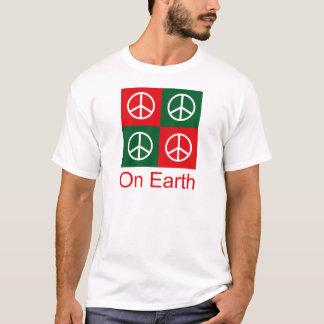 Pop Art Christmas PEACE T-Shirt