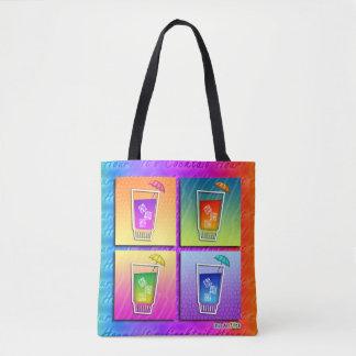 POP ART COCKTAILS TOTE BAG
