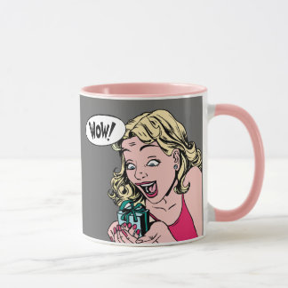 Pop Art Coffee Mug, The Unexpected Gift, P&G Mug