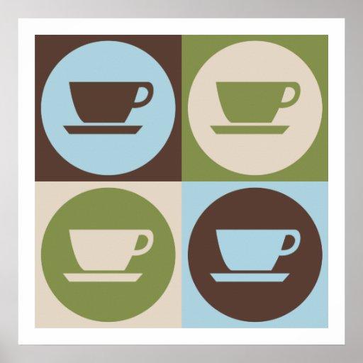 Pop Art Coffee Print