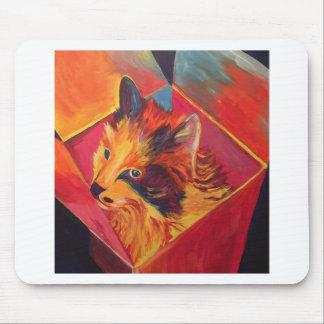 POP ART COLORFUL CAT MOUSE PAD