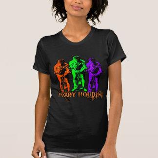 Pop Art Colorful Houdini Triple Image Tshirts