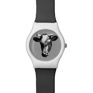 Pop Art Cow Watch
