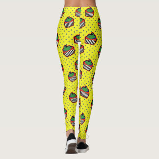 Pop Art Cupcake Leggings