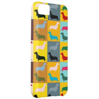 Pop Art Dachshunds iPhone 5C Case