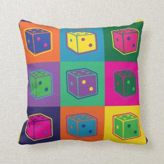 Pop-art Dice Pillow