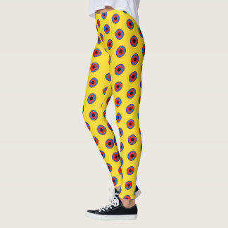 Pop Art Donuts Leggings