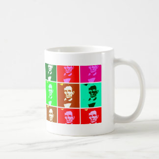 Pop Art .esque Abraham Lincoln Coffee Mug