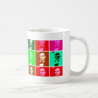 Pop Art .esque Abraham Lincoln Mug