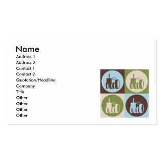 Pop Art Farming Business Card Template