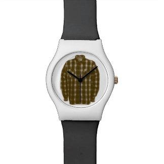 Pop Art Flannel Shirt Watch