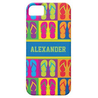 Pop Art Flip Flops Case For The iPhone 5