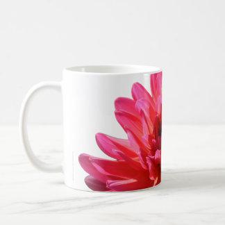 Pop Art Florist's Macro Pink Dahlia Flower Coffee Mug