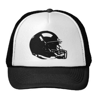 Pop Art Football Helmet Cap