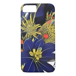 Pop-art, geometric & floral iPhone 7 case