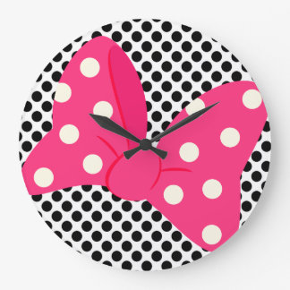 Pop Art Girly Clock