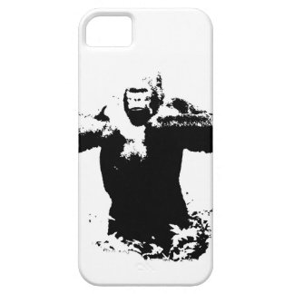 Pop Art Gorilla Beating Chest iPhone 5/5S Case