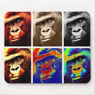Pop Art Gorillas Mousepads