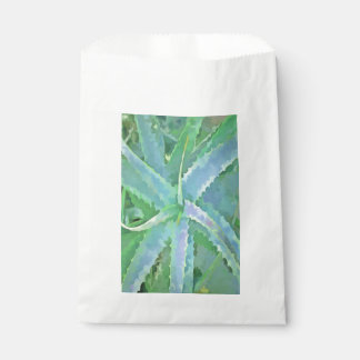 Pop Art Grey Green Aloe Favour Bag