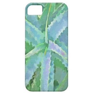 Pop Art Grey Green Aloe iPhone 5 Cases