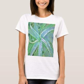 Pop Art Grey Green Aloe T-Shirt