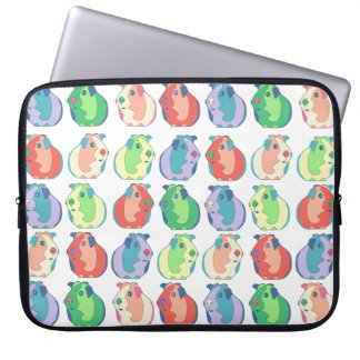 Pop Art Guinea Pig Pattern Laptop Sleeve