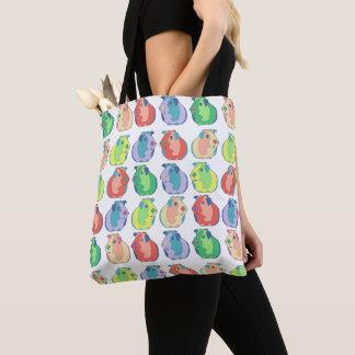 Pop Art Guinea Pig Pattern Tote Bag